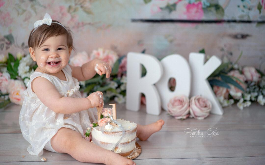 Sesja urodzinowa Cake Smash